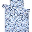 CICUS kék gyerek krepp ágyneműhuzat