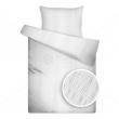 Liliom UNI fehér krepp ágyneműhuzat
