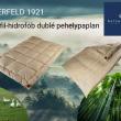 Billerbeck ELBERFELD 1921 hidrofil-hidrofób duplé paplan
