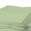 FLANEL világos zöld lepedő 150 x 220 cm