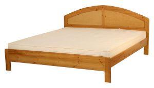 Pácolt bükkfa ágykeretek